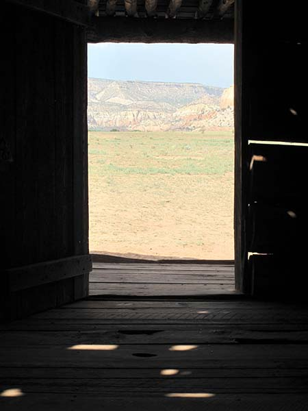 Towards Ghost Ranch