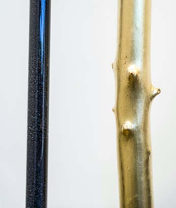 Measuring Device - Gold (detail)
