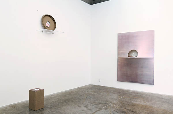 installation view - back gallery