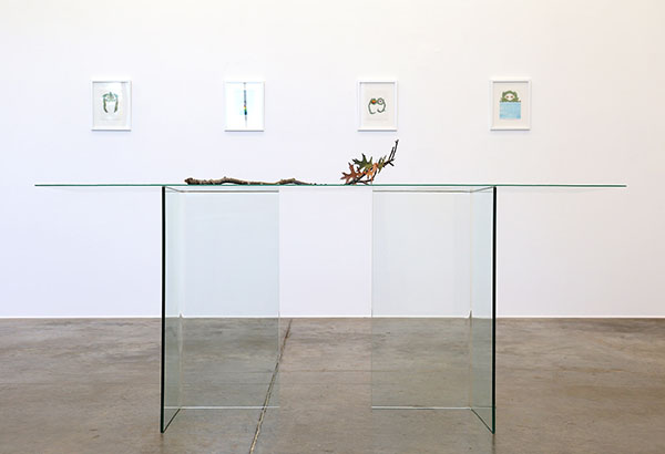 installation view - Ghost Console