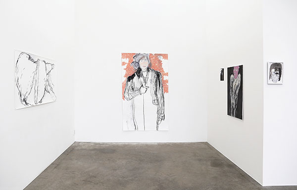 front gallery - installation view