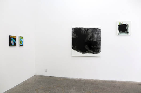 back gallery - installation view