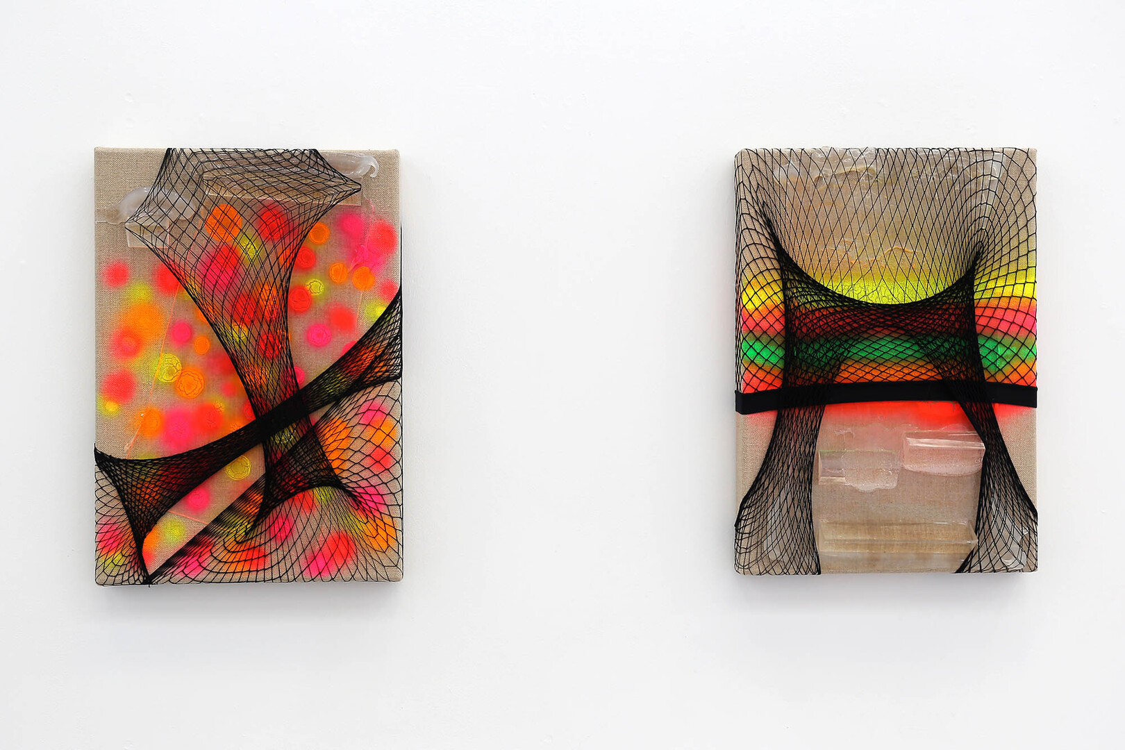 Mesh 1 & 2 - installation view